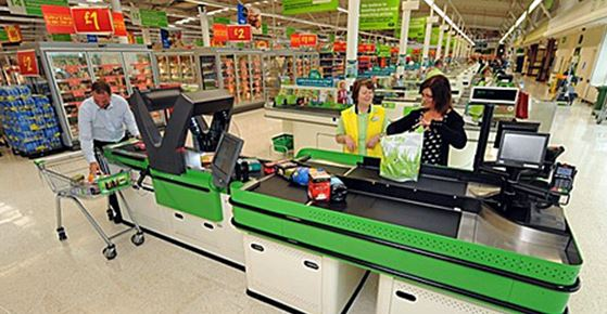 Asda test Wincor Nixdorf checkout