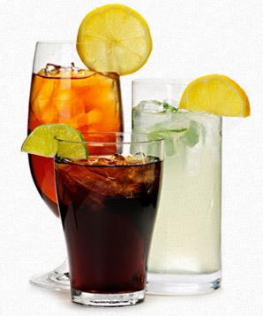 soft drinks in pubs